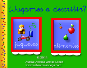 ¿Jugamos a describir?